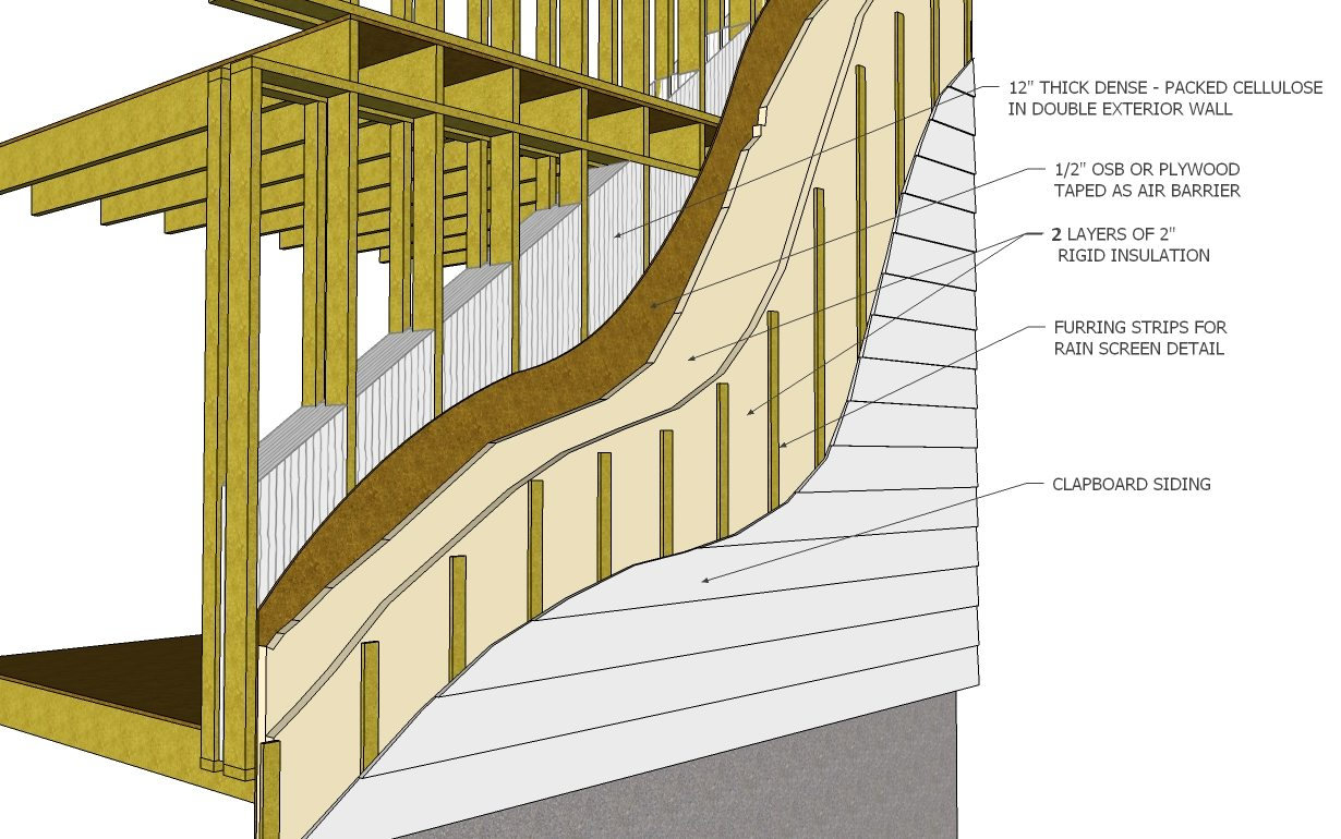2 passive house-WALL section 3