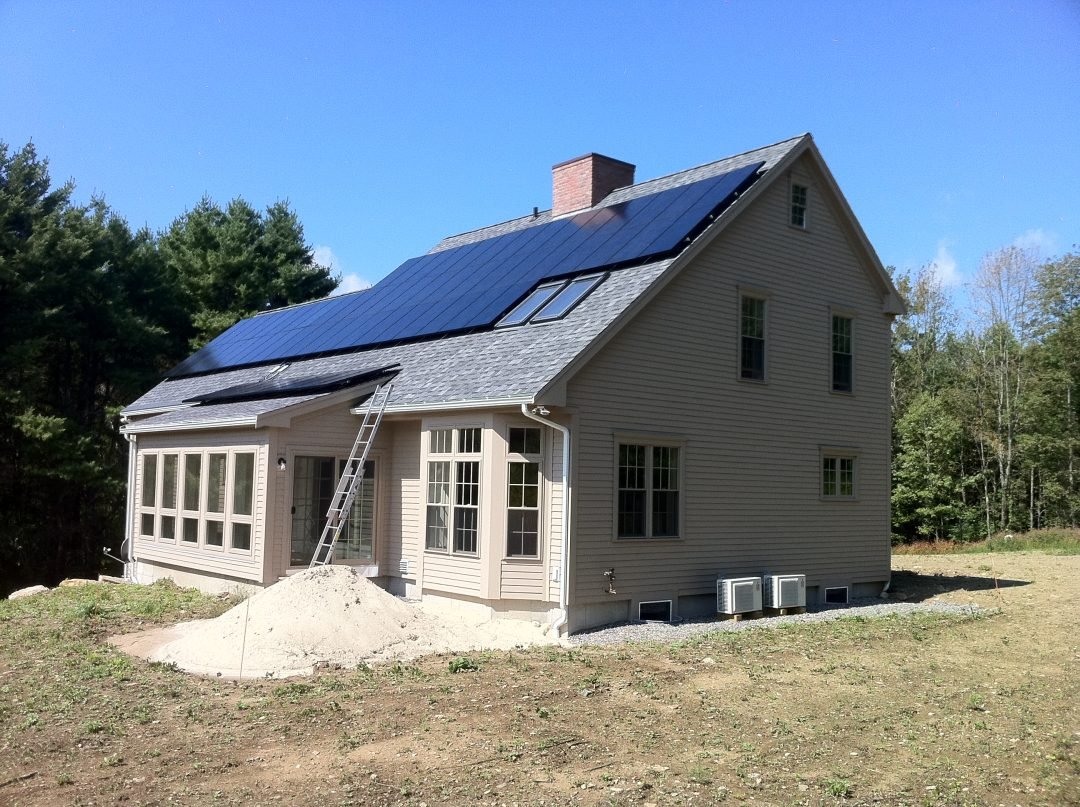 Princeton Energy-Positive Custom Home